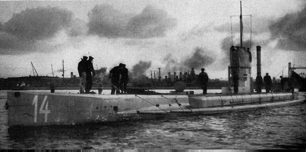 German U-Boat WWI
