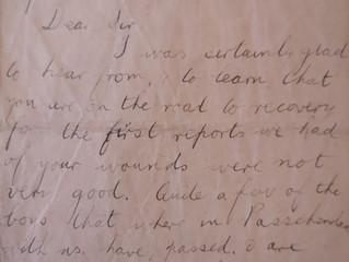 April 1, 1918 - Sgt. A.H. Jones 53815