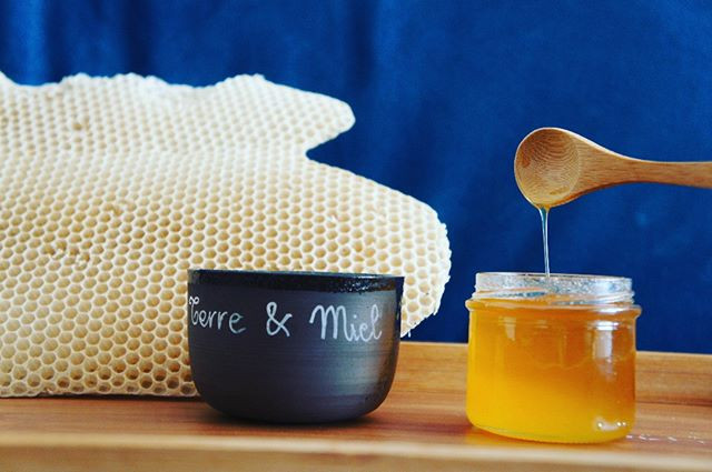 Pot de miel selon récolte 10€/500g