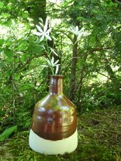 Vase décoratif cuivré 45€