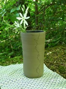 Vase gravé 28€
