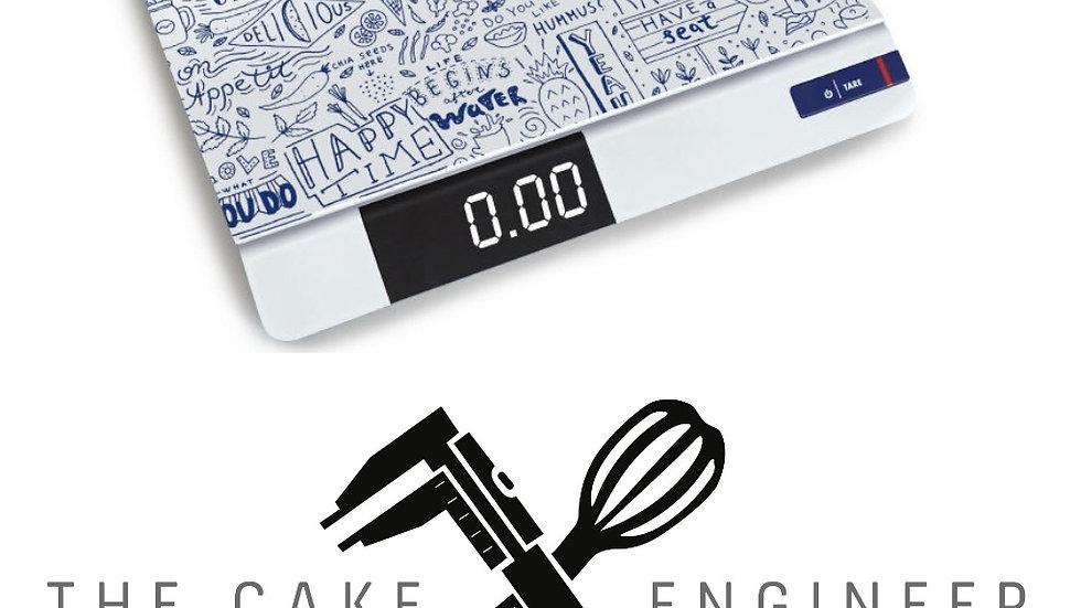 "NEW NEUHEIT  Küchenwaage FGE 10K-E     ""THE CAKE ENGINEER"" EDITION"