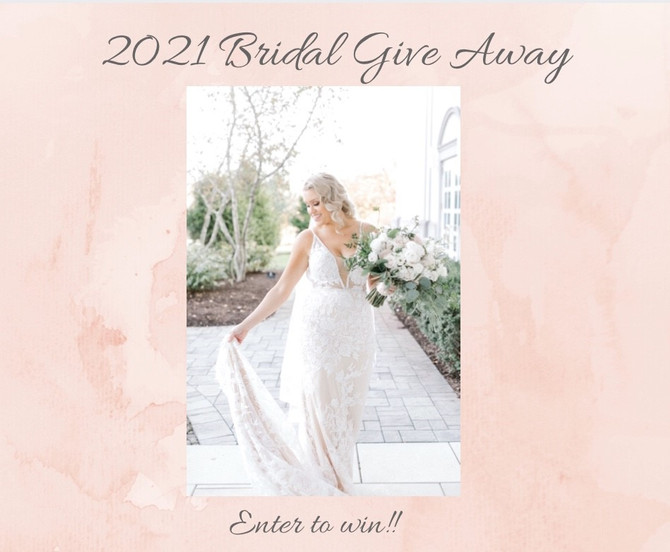 2020 Bridal Hair + Make up Give Away!