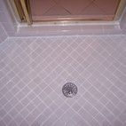Moore Shower Regrout After
