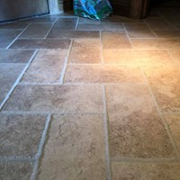 Nichols Hills Stone Clean and Color Seal