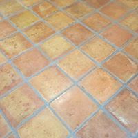 Saltillo Tile Cleaning and Color Seal After