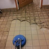 Choctaw Floor Tile Cleaning