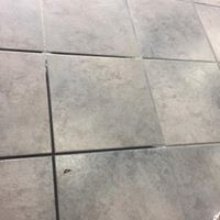 Midwest City Tile Cleaning and Color Seal Before
