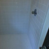 Nichols Hills Completed Shower Regrout