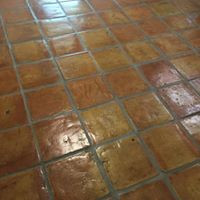 Saltillo Tile Clean, Color Seal and Acrylic