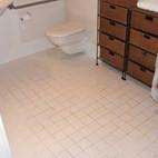 Tile Floor Regrout Before