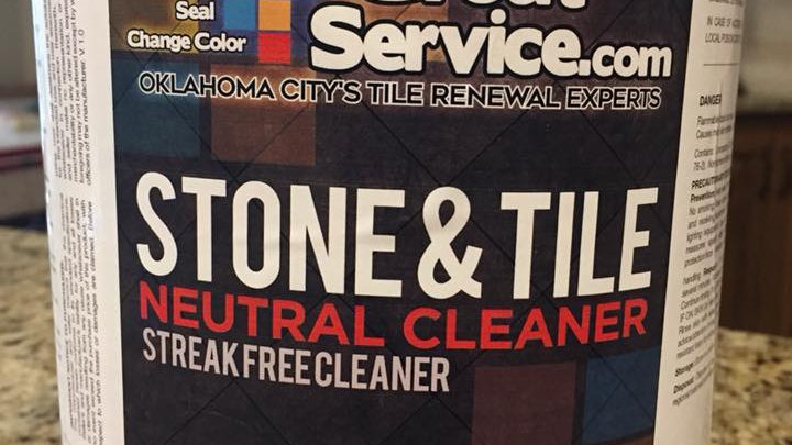 Grout Service Tile and Grout Neutral Cleaner