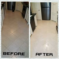 Edmond Clean and Color Seal before and after
