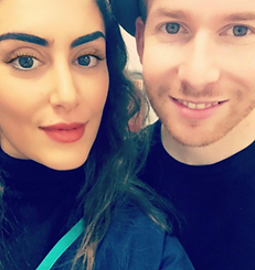 Neil Jones from Strictly Come Dancing at Chelsea Dental Clinioc