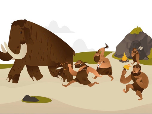 Stress Release after fighting a Mammoth