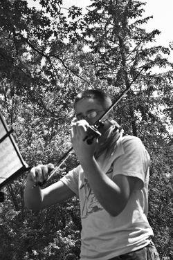 Musician Portrait