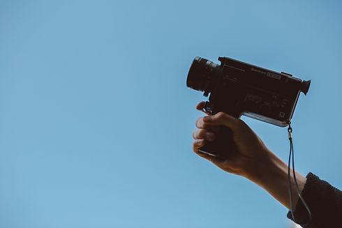 Câmera de mão
