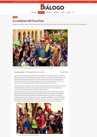 Chimichurri circo Puert Rico 2016