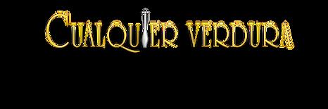 Cualquier Verdura Logo png