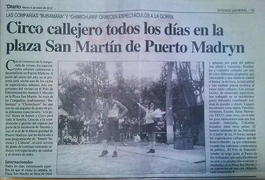 Chimichurri Circo Patagonia Argentia