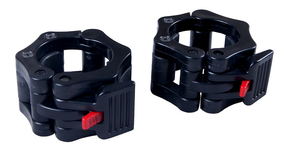 Presilha Plástica Aperto Rápido P/ Barra Olímpica - Lock Jaw - LJ015 - Up'Lift