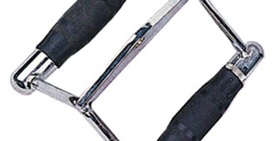 Puxador Triangulo Cromado C/ Ounhos de Borracha - PI320 - Up'Lift