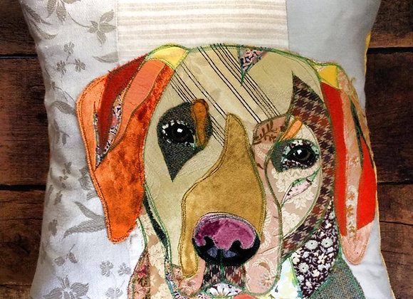 Dog Portrait Cushion