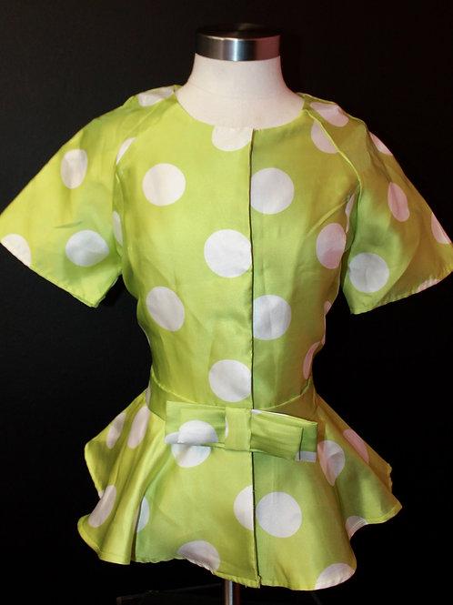 Polka Lime Top