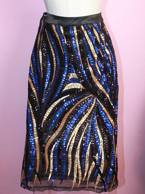 Sparkle Firework Sequin Skirt