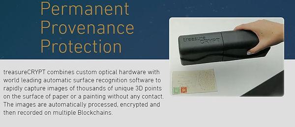 Blockchain Document Scanning Device