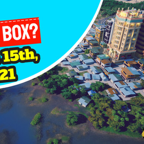 Whats in the box? March 15th, 2021