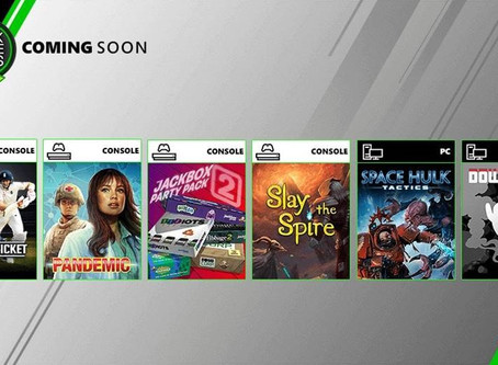 New Games coming to Xbox Game Pass this August