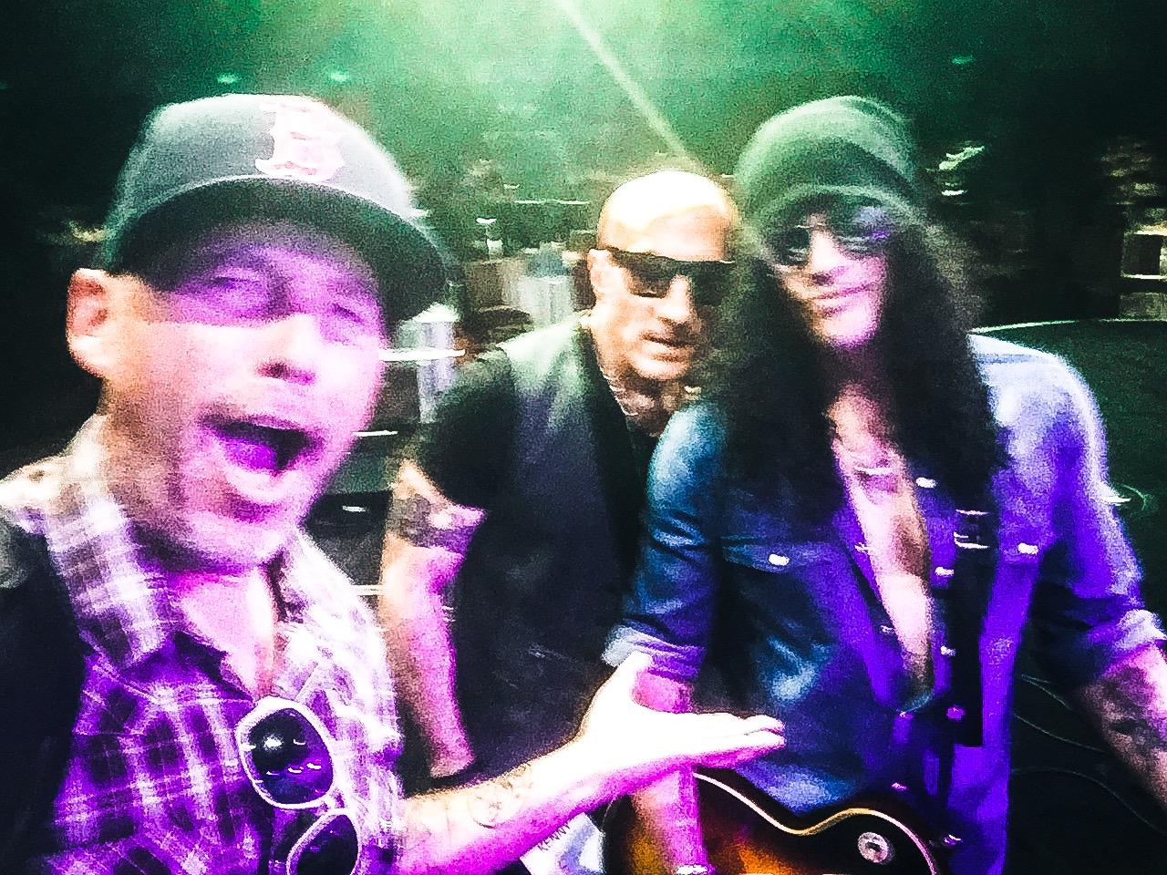 Hang with Slash and Kenny Aronoff.