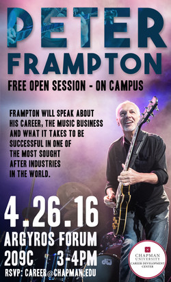 Peter Frampton Event Flyer