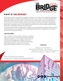 LBCC Bridge Program Info Sheet