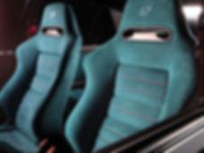 Lancia Delta Alcatara Seats