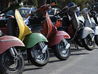 Vespa, Italy to conquer the world on two wheels