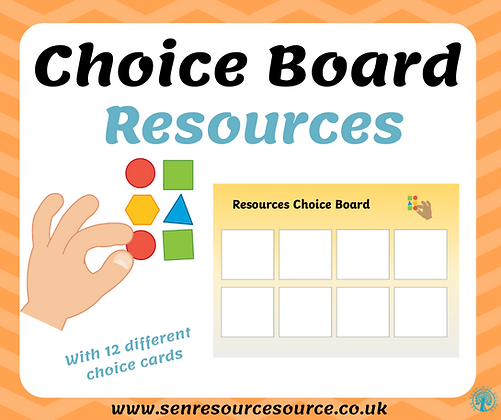 Resources Choice Board