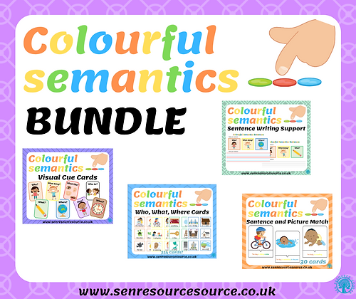 Colourful Semantics Bundle