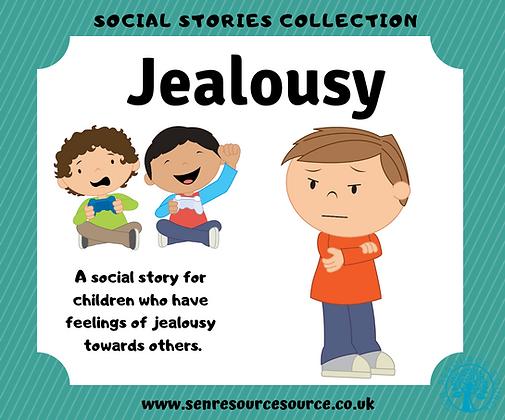 Feeling Jealous Social Story