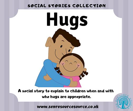 Hugs social story