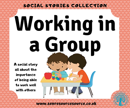 Working in a Group Social Story