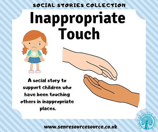 Inappropriate Touch Social Story