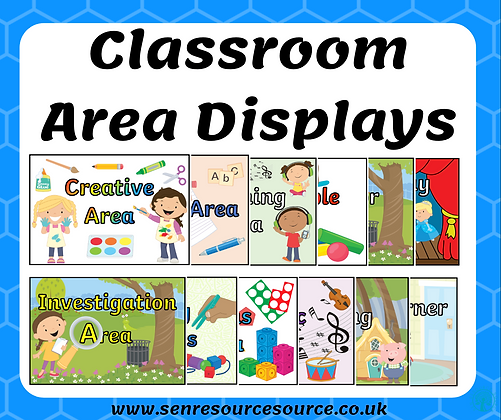 Classroom Area Signs