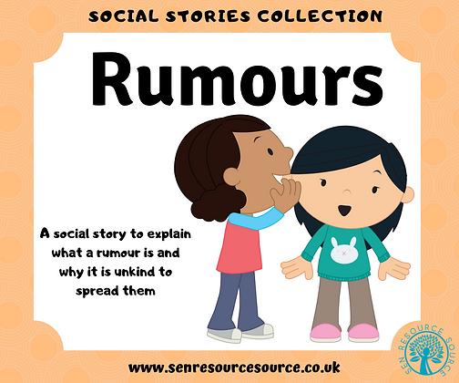 Rumours Social Story
