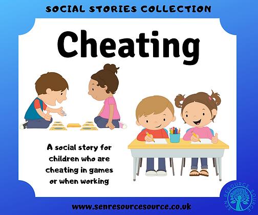 Cheating Social Story