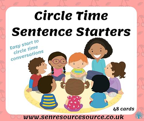 Circle Time Sentence Starters