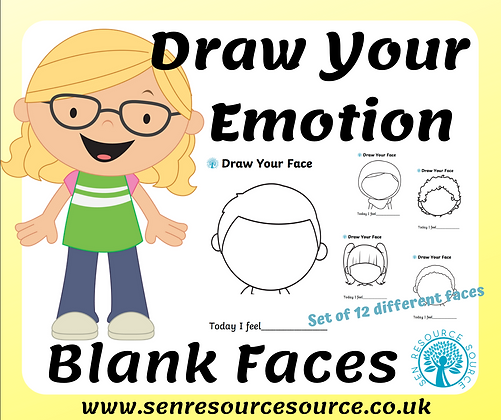 Draw yourself with your emotion