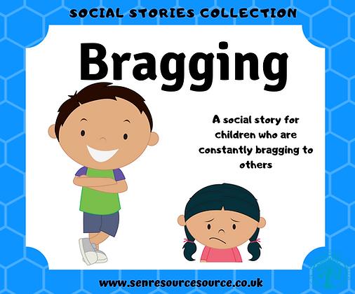 Bragging Social Story
