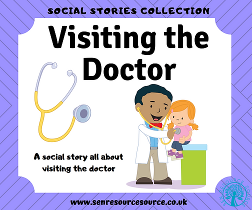 Visiting the Doctor Social Story